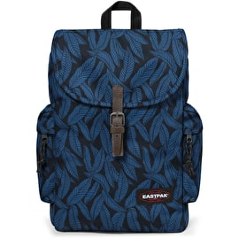 Eastpak Austin Backpack - Leaves Blue