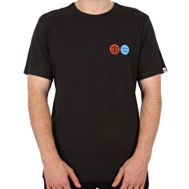 Element Profile T Shirt - Off Black