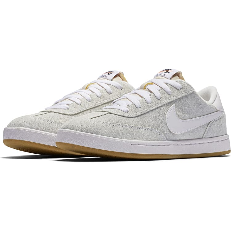 Nike SB FC Classic Skate Shoes - Summit White/White