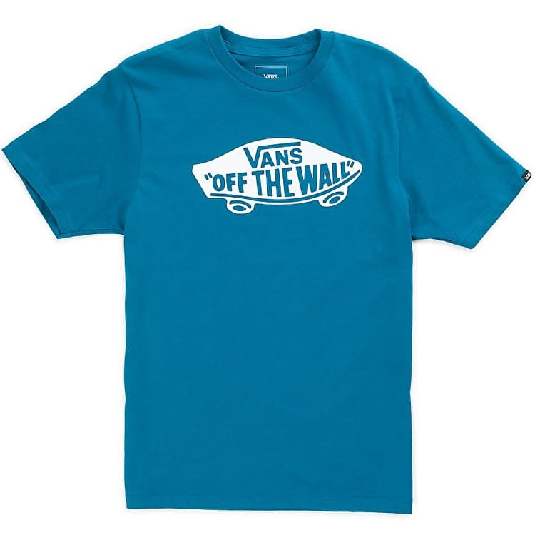 Vans OTW Kids T-Shirt - Lyons Blue/White