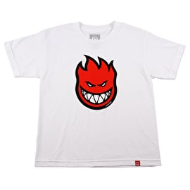 Spitfire Bighead Fill Kids T-Shirt - White