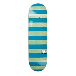 Polar Block Stripe Skateboard Deck - Mint/Teal - 8.25