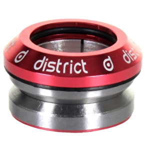 District S-Series Integrated Headset - Red