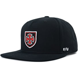 Brixton Hedge MP Snapback Cap - Black