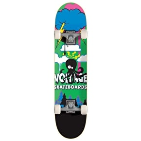 Voltage Little Monsta Complete Mini Skateboard - Octopus