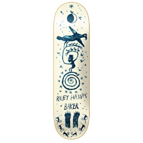 Baker Folk Goth Skateboard Deck - Hawk 8.3875