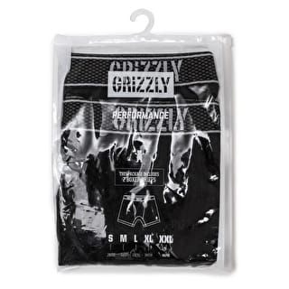 Grizzly Performance Boxer Briefs (2 Pack) - Black