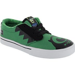 Etnies Jameson 2 Kids Disney Monsters Shoes - Green/Black UK Size 2 (B-Stock)
