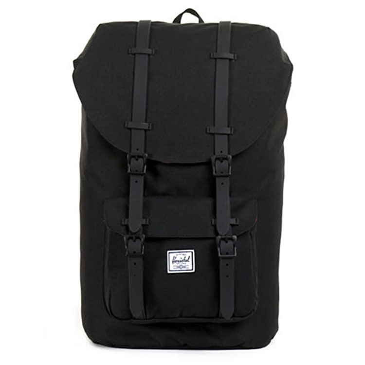 Herschel Litle America Backpack - Black/Black Rubber