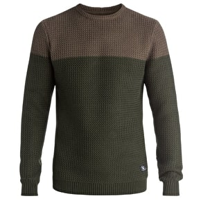 DC Clyde Cisco Sweater - Dark Olive