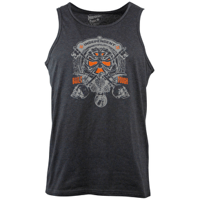 Independent On Lock Vest - Charcoal Heather