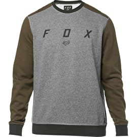 Fox Destrakt Crew Fleece - Heather Graphite