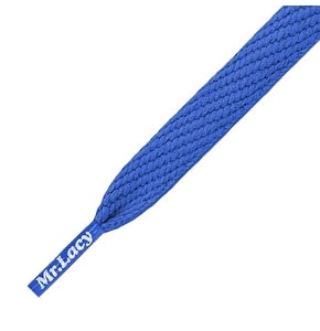Mr Lacy Shoelaces - Flatties Royal Blue