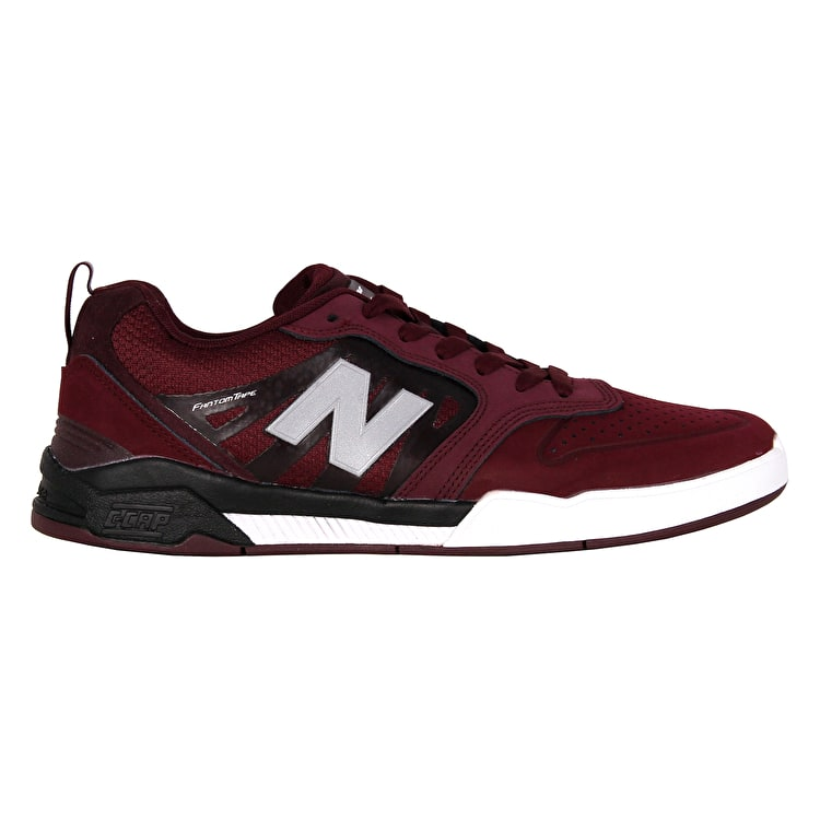 NEW BALANCE Numeric 868 scarpe da skate chocolate cherry/black