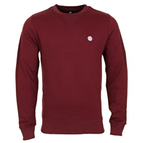 Element Cornell Crewneck - Oxblood Red