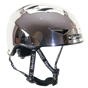 B-Stock HardnutZ Auto Chrome Helmet - Medium (54-58cm) (Cosmetic Damage, No Box)