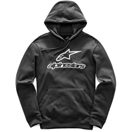 Alpinestars Always Fleece Hoodie - Black/White