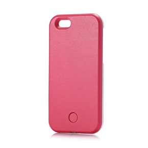 Aero Light Up LED Selfie iPhone Case - Pink