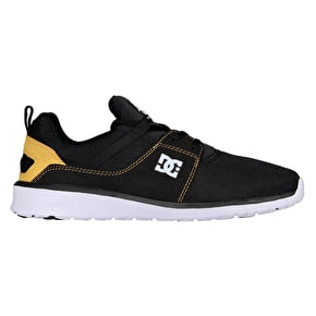 DC Heathrow Skate Shoes - Black/Tan