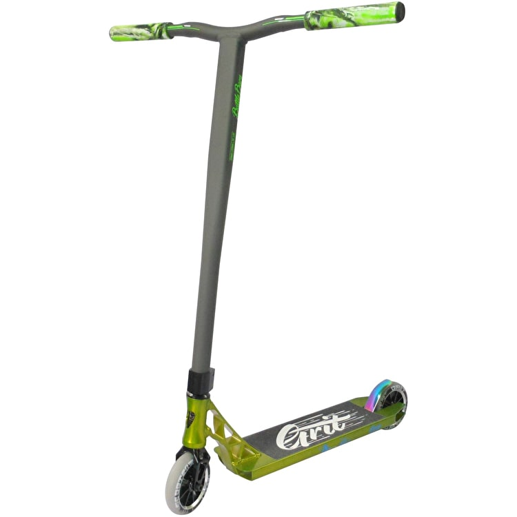 Grit Invader Stunt Scooter - Polished Green/Satin Grey
