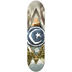 Foundation Star & Moon Skateboard Deck - Geometry 8.125