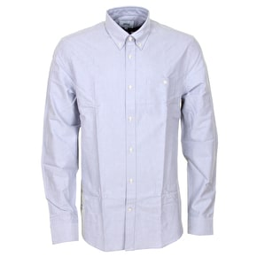 WeSC Oden Longsleeve Shirt - Neutral Grey