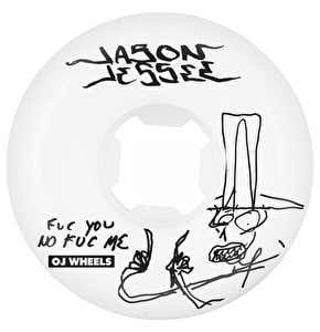 OJ Skateboard Wheels - F You No F Me Jessee White 58mm