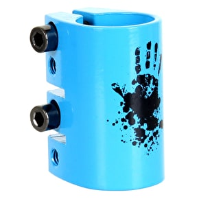 Slamm Quad Collar Clamp - Blue