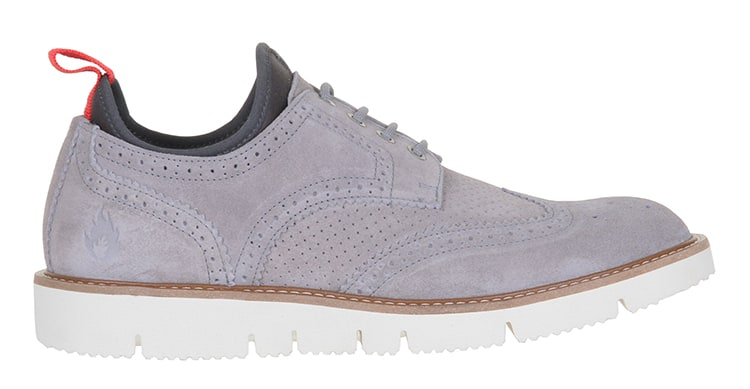 WeSC Muchalls Brogue Shoes  Grey
