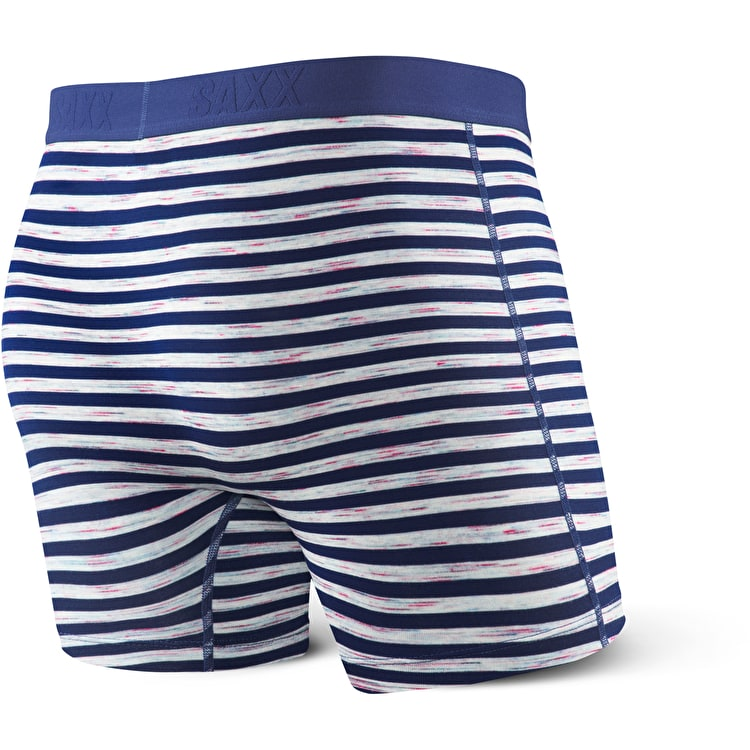 Saxx Vibe Boxers - Blue Space Hiker Stripe