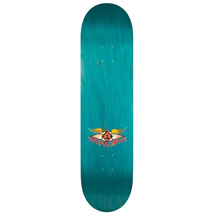 """Toy Machine Provost Cone Of Arms Skateboard Deck - 8.5"""""""