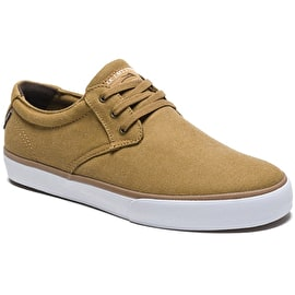 Lakai Daly Skate Shoes - Tobacco Textile