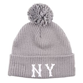 New Era Lightweight Felt Bobble Beanie - New York Highlanders