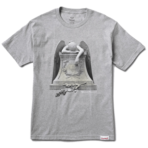 Diamond Angel Weeping T-Shirt - Heather Grey
