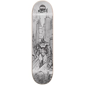 Almost Batman Pencil Sketch R7 Skateboard Deck - Mullen 8