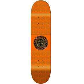 Karma Seal Skateboard Deck - Orange - 8.25