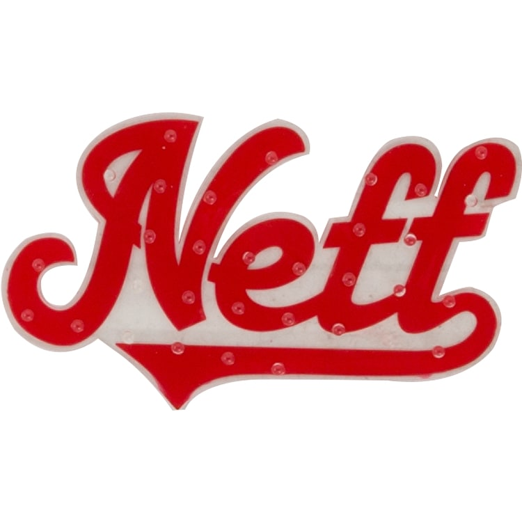 Neff Outfield Snowboard Stomp Grip Pad - Red