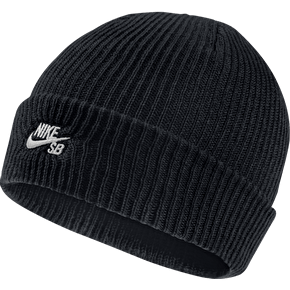 Nike SB Fisherman Beanie - Black/White