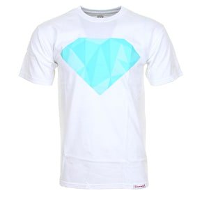 Diamond Geo Fill T-Shirt - White