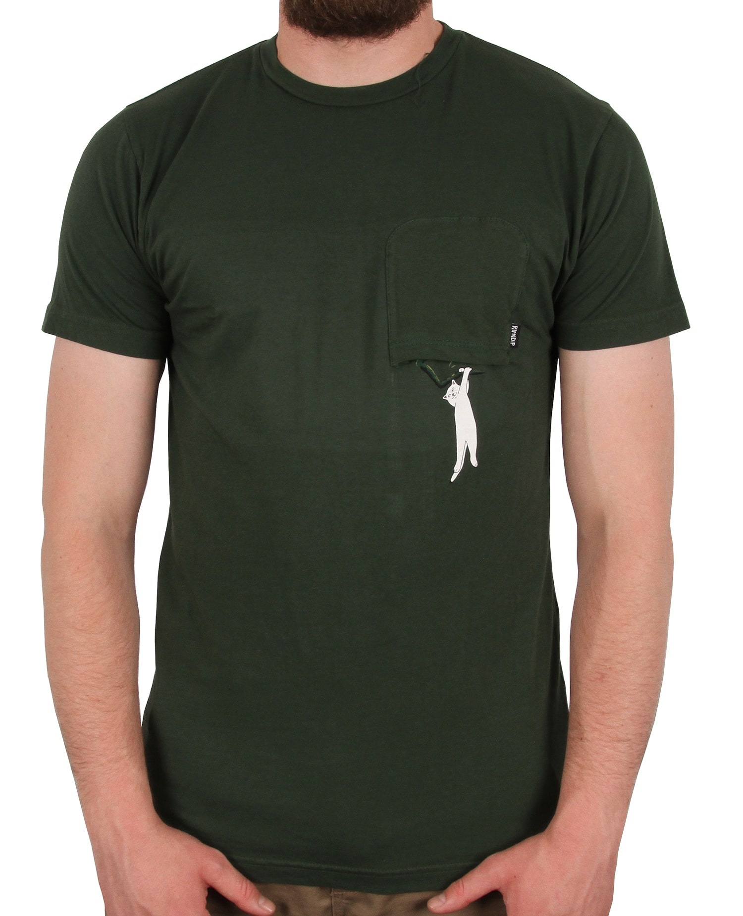 RIPNDIP Jungle Nerm T shirt - Hunter Green