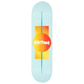 Almost Gradient HYB Skateboard Deck - Ice 8