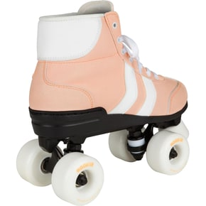 Rookie Authentic V2 Quad Roller Skates - Pink/White