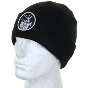 Chicks in Bowls Beanie- Black
