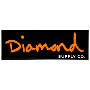 Diamond OG Script Skateboard Sticker