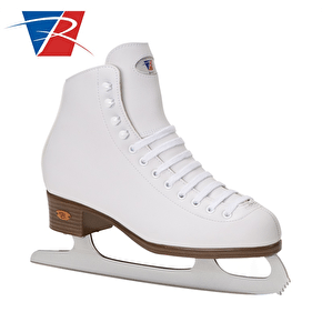 Riedell White Ribbon 112 GR4 Ice Skates UK Size 9 (B-Stock)