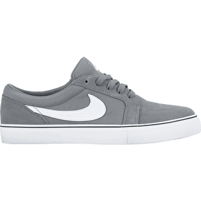 Nike SB Satire II Shoes - Cool Grey/White