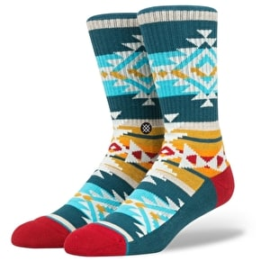Stance Table Mountain Socks - Green