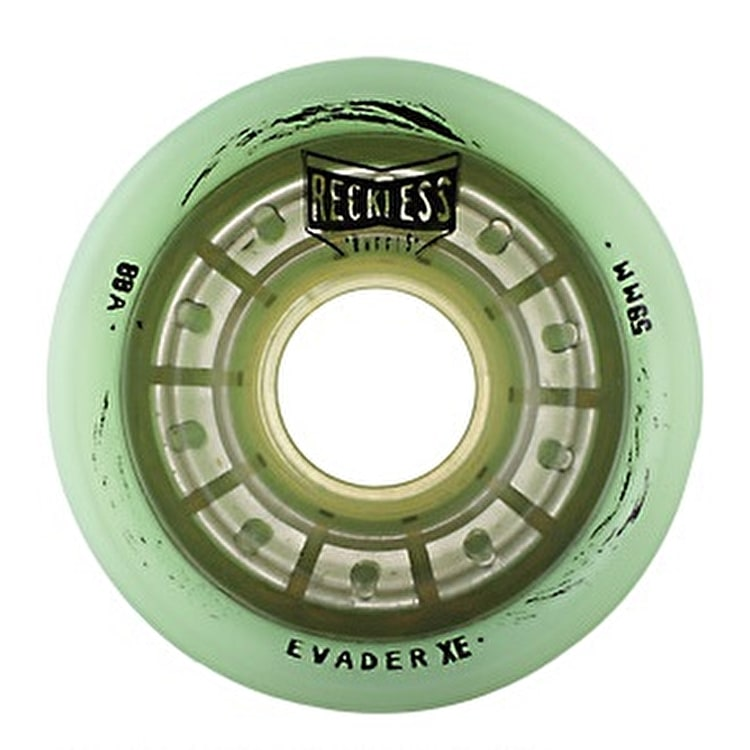 Reckless Evader XE 59mm Quad Derby Wheels 88A- Mintâ??