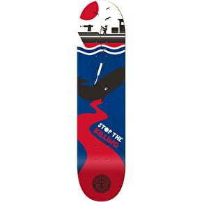 Karma Skate For The Planet Skateboard Deck - Whale 8.6