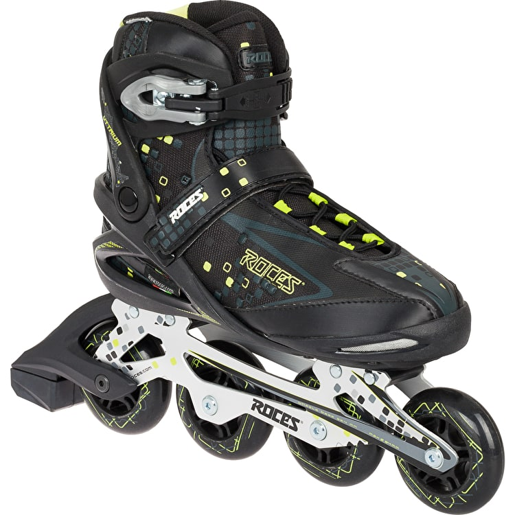 Roces Pixel Men's Inline Skates - Black/Lime Green